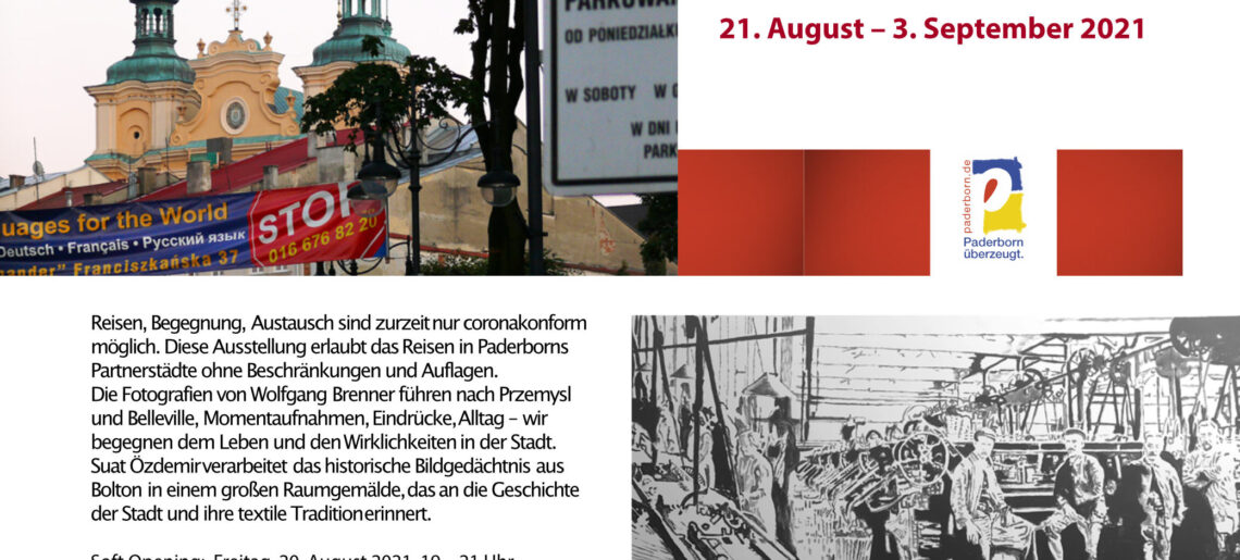 Ausstellung Begegnung – Reise in die Partnerstädte – Przemysl